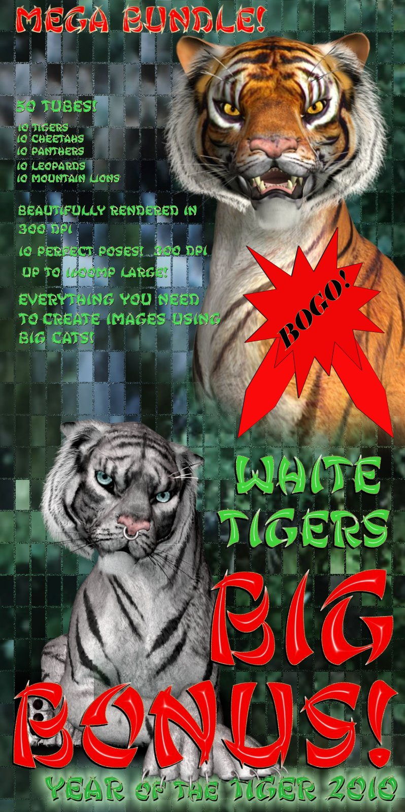 Year of the Tiger 2010 Mega Bundle
