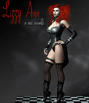 Lizzy Ann Clothing V4 / A4 3D Figure Assets RPublishing