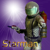 Starman 3D Models 3D Figure Essentials chasfh