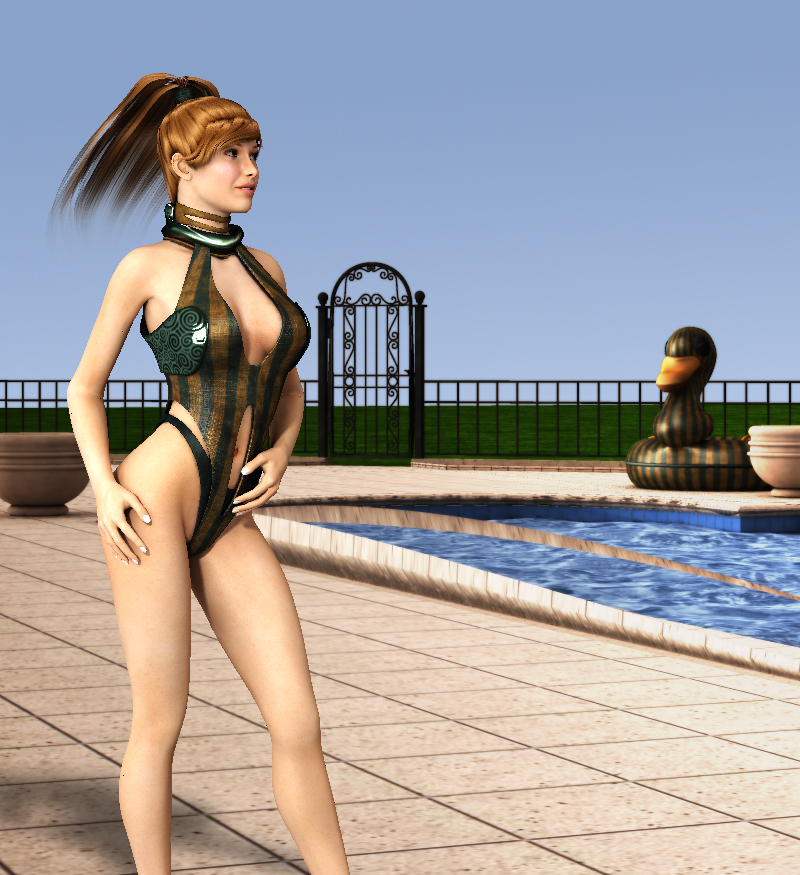SFSS: A Science Fiction Swimsuit Set for V4/A4/Elite