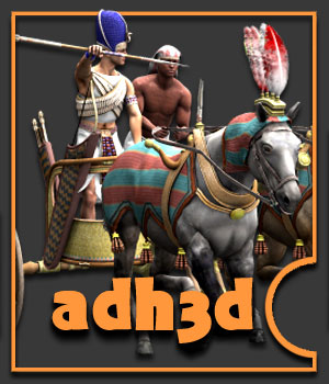 Warrior Pharaoh pack 3D Figure Essentials 3D Models adh3d
