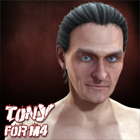 Tony for M4 3D Figure Assets henrika_amanda