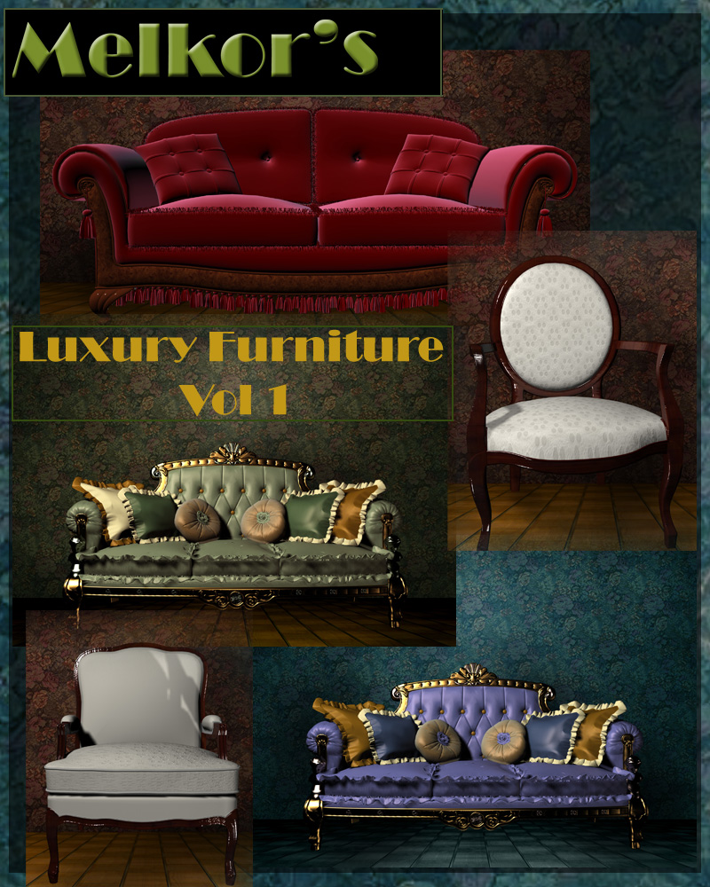 Luxury Furniture Vol 1