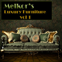 Luxury Furniture Vol 1 2D 3D Models -Melkor-