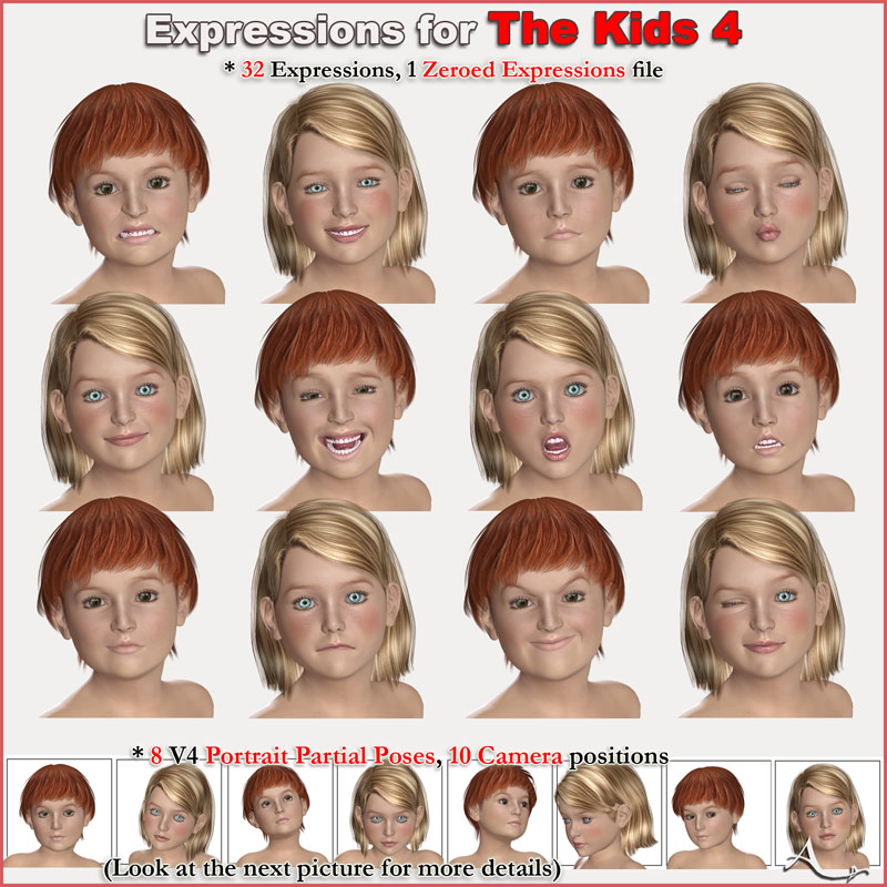 Expressions for The Kids 4