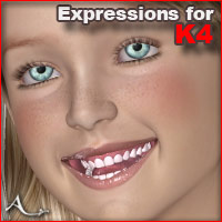 Expressions for The Kids 4 3D Figure Assets A_
