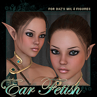 ADI Ear Fetish 3D Figure Essentials Adiene