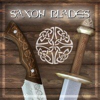 Merlin's Saxon Blades 3D Models 3D Figure Essentials Merlin_Studios