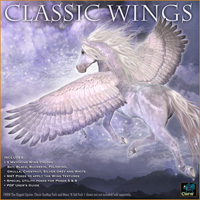 CWRW Classic Wings for the Winged Horse image 1