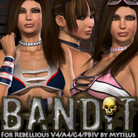 Bandit for Rebellious V4/A4/G4/PBIV by Mytilus  fratast