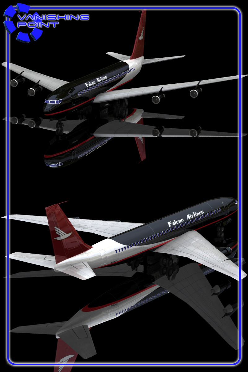 Aircraft 707  for Poser