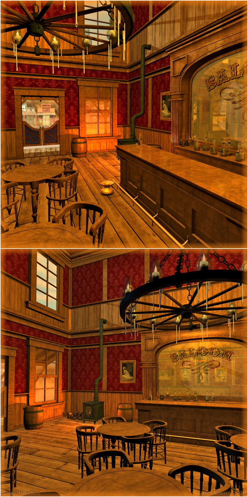 old west saloon 3d models 3d figure essentials lukea