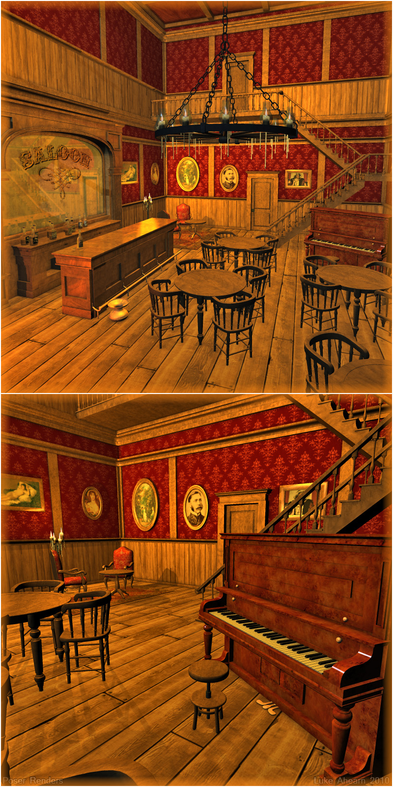 the gallery for gt old west saloon piano