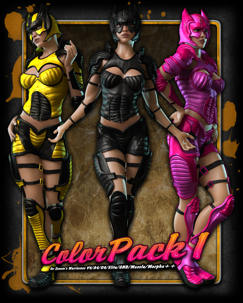 ColorPack1 for Exnem's Warrioress V4