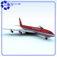 Aircraft 707 (for Vue) 3D Models VanishingPoint