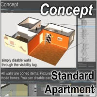 Standard Apartment by 3-D-C image 1