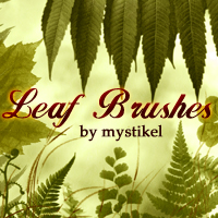 Leaf Brushes 3D Models 2D Graphics mystikel