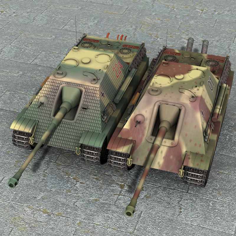Jagdpanther for Poser