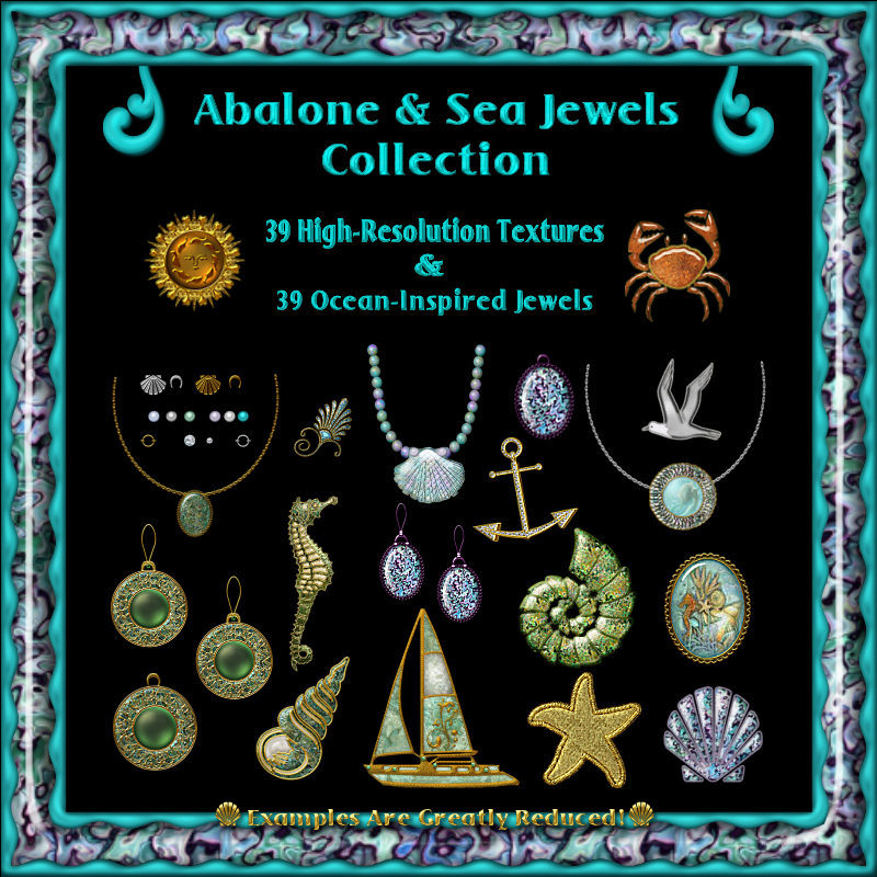 Abalone & Sea Jewels Collection