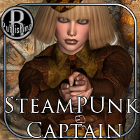SteamPunk Captain Outfit V4,A4,G4 image 5