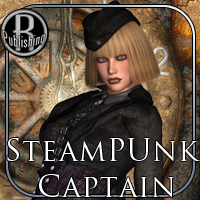 SteamPunk Captain Outfit V4,A4,G4 image 7
