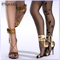 Sandals with Silk Ribbons for V4 A4 G4 Elite image 3