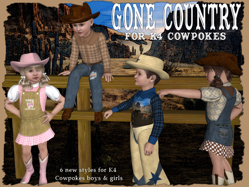 Gone Country for K4cowpokes