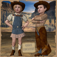 Gone Country for K4cowpokes Themed Clothing JudibugDesigns
