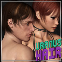 Uranus Hair 3D Figure Essentials outoftouch
