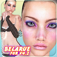 Bela Rue for V4 3D Figure Essentials _Fenrissa_