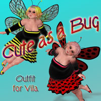 Cute as a Bug for Vila Clothing jancory