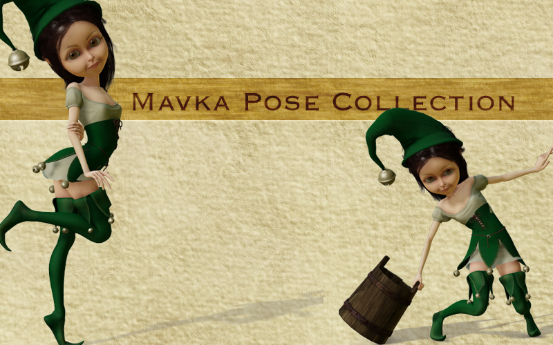 Mavka Pose Collection