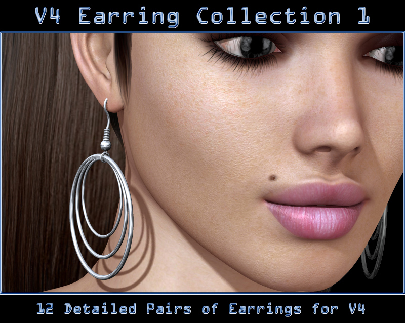 V4 Earring Collecton 1