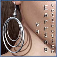 V4 Earring Collecton 1 Accessories nikisatez