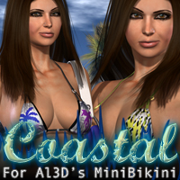 Coastal for Al3D's MiniBikini Clothing Themed fratast