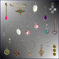 Jewels Pack 2 : Classics for V4 3D Figure Essentials 3D Models chasmata