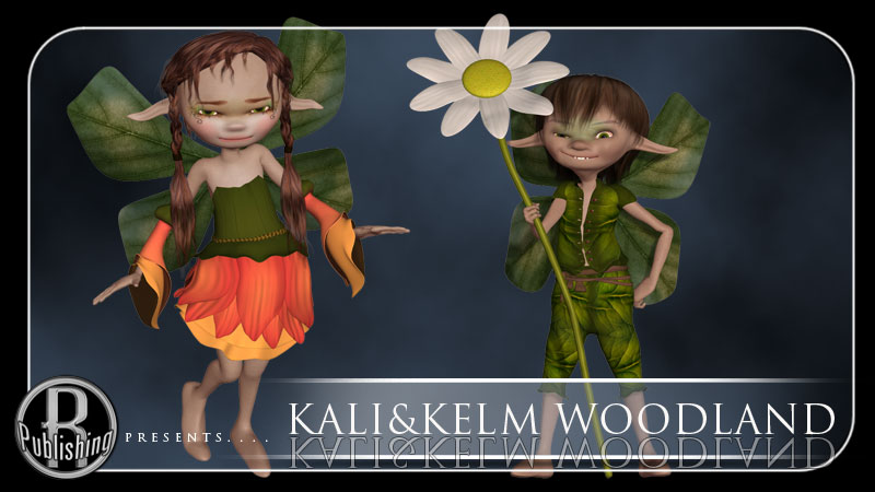 Woodland Fairies for Kali & Kelm