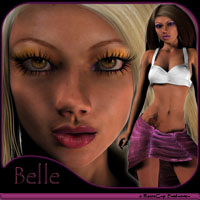 Belle A4 3D Figure Essentials reciecup
