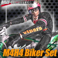 M4H4 Biker Set Clothing billy-t