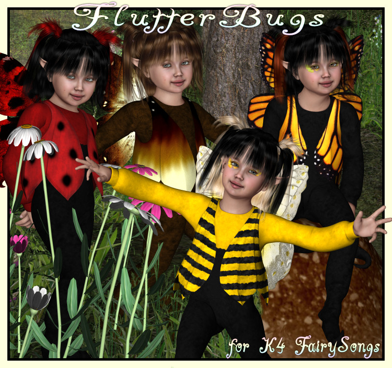 FlutterBugs for K4 FairySongs
