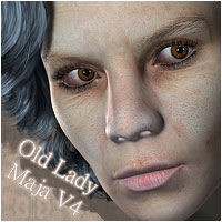 Old Lady Maja for V4 by ForbiddenWhispers