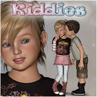 Kiddies Poses & Expressions for Kids4 Poses/Expressions Software Themed Accessories RPublishing