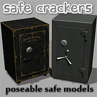 The Safe Crackers 3D Models coflek-gnorg