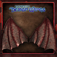 Exnem's Demon Wings Software Props/Scenes/Architecture Themed exnem
