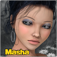 Masha V4/A4 Themed Characters Software hameleon