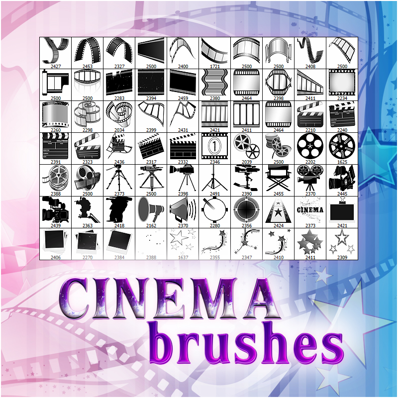 Cinema Brushes