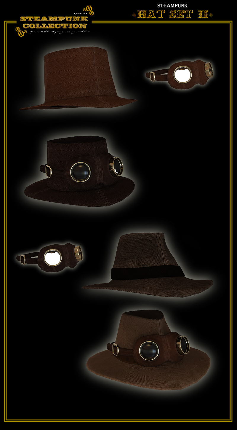 SteamPunk - Hat Set II