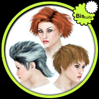 Biscuits Hair Trio Themed Hair Software Biscuits