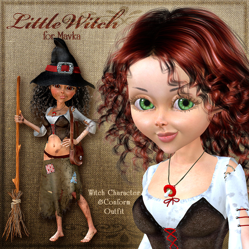 Mavka:Little Witch (Conform)