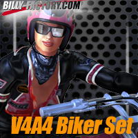 V4A44 Biker Set Clothing billy-t